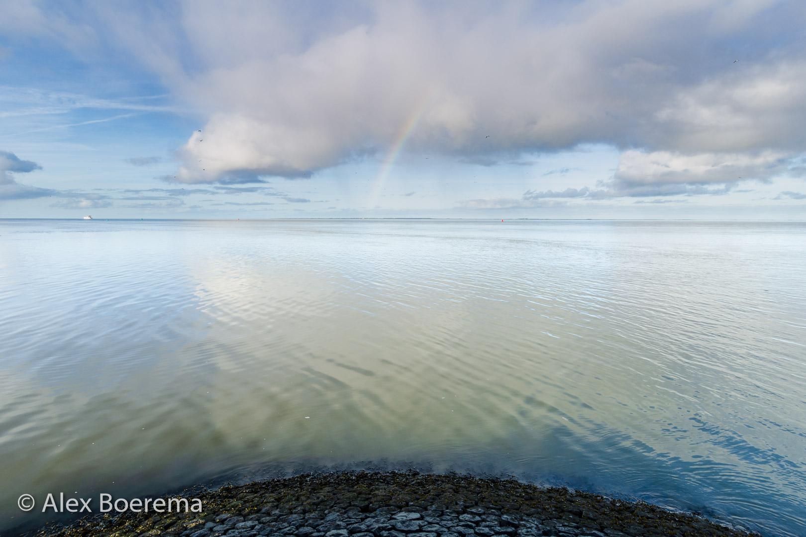 Havenhoofd, Lauwersoog december 2015